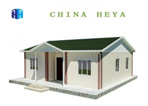 China 77 Square Meters Modern Prefabricated Houses Cement Foam Board Material on sale