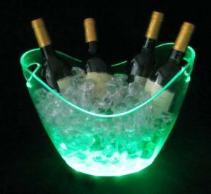 China LED ice bucket for champagne on sale