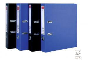 China Lever Arch file folders with Black/blue Covers Office Home Use on sale