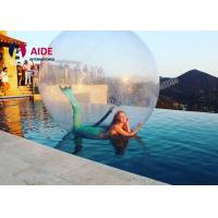 Clear 1mm TPU Inflatable Ball Game Giant Inflatable Ball For Adults