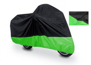 China 180T Polyester Taffeta Fabric Waterproof Motorcycle Cover Easy Install on sale