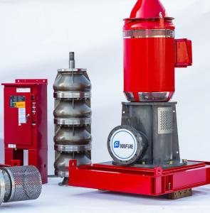 China UL/FM/Non Listed Vertical Shaft Turbine Fire Pump , Eaton Controller Fire Water Pump on sale