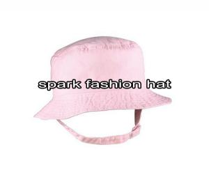 Quality Pink bucket hat for baby for sale
