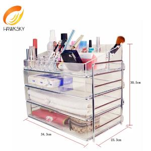 China Acrylic box makeup Acrylic boxes Acrylic makeup drawers on sale