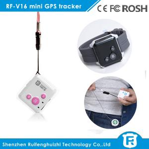 China personal gps tracking device for elderly sos button personal gps tracker RF-V16 on sale