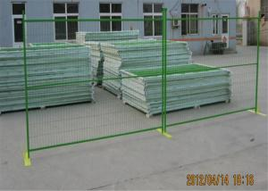 China Construction Fence Panels 6'/1830mm*10'/3048mm width powder coated green mesh 3x6/75mm x 100mm on sale
