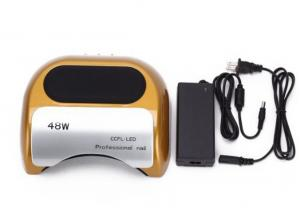 China Fingernail USB Fan CCFL UV LED Lamp Nail Dryer  Portable 48 W Fast Curing on sale