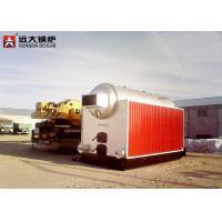Water Tube Coal Hot Water Boiler , Biomass Bagasse Fired Hot Water Boiler