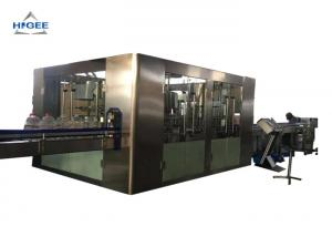 China 3 Kw Automatic Water Filling Machine For Fill Small Pure Water Bottle on sale