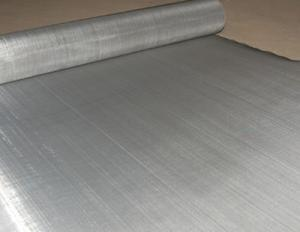 China Customized Stainless Steel Wire Mesh Cloth , Stainless Steel Fine Mesh Screen on sale