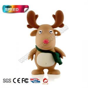 China Flash Drive Chritmas Deer Shape with 512MB-32GB (HY-223) on sale
