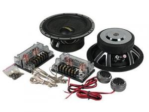 China 20KHZ Component Car Speakers 4 Ohm , 75W Two Way Car Speaker Woofer on sale
