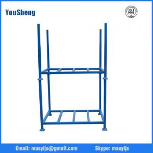China Warehouse Cargo Equipment stacking Steel Folding Tyre Rack on sale
