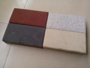 Quality Anti - Slip Water Permeable Brick Floor Materials Strong Water Absorbing Capacity for sale