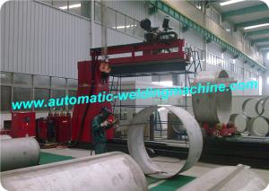 China Automatic TIG/ MIG Straight and Longitudinal Seam Welding Machine for Pipe on sale