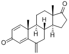 99% Purity white powder Anti Estrogen Steroid Aromasin Exemestane For Anti Cancer CAS 107868-30-4