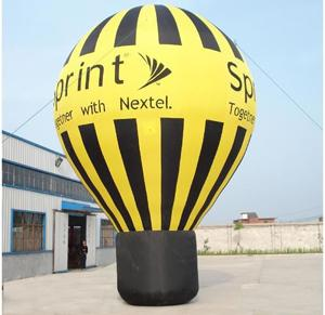 China inflatable advertising balloons on sale