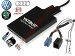 Adaptador CD del cambiador USB MP3 de Digitaces del coche para VW Audi Skoda Seat del ISO 8-Pin