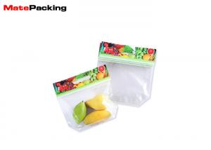 China Transparent Anti Fog Vegetable Packing Bags , Fruit Packing Bags With Air Hole on sale