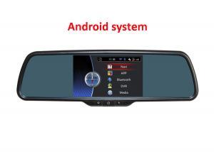 China moniteur de miroir de vue arrière de 5 pouces avec la navigation de DVR et de GPS avec le système androïde d'OS on sale