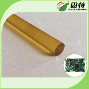 China Yellow and Transparent Stick Circuit Board Electronic Component PA Hot Glue Gun Sticks on sale
