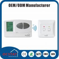 RF Electronic Programmable Thermostat For Heating  system 868MHZ radio frequency wireless room thermostat HVAC