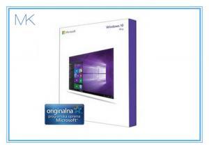 China USB 3.0 Windows 10 Pro Retail Box , Global Win 10 Pro License Product OEM Key on sale