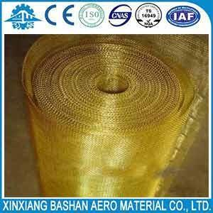 China Electromagnetic Field Fabrics 150um 100um copper wire mesh by bashan on sale
