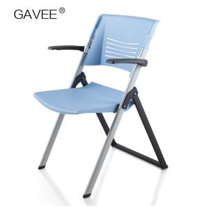 China Pp Plastic Adjustable Task Chair , Portable Folding Chairs For Outdoors on sale