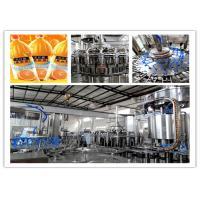 380V 50Hz Orange Juice Filling Machine Electric Driven 2450 * 1800 * 2200mm