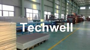 China PU Sandwich Panel Roll Forming Machine with Tracking Cutting on sale