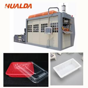 China Fast Food Plastic Bowl Making Machine Forming / Punching / Blanking At Same Time on sale