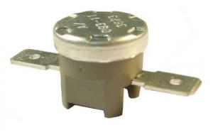 China Round hole snap action vertical refrigerator high temperature thermostat switch 12v on sale