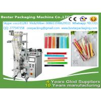 China Automatic  liquid Popsicle packing machine,ice Popsicle packag ing machine with stainless steel tank and pump on sale