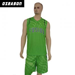 48cecc1f858 ... Quality 2018 Custom Design Dri Fit Reversible 100% Polyester Basketball  Jersey for sale ...