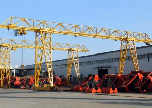 China 20 Ton Truss Single Girder Gantry Crane For Granite Industry / Cement Pipe Industry on sale