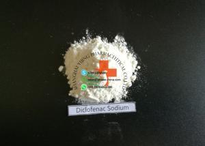 China Diclofenac Sodium Pharmaceutical Raw Materials CAS : 15307-79-6 Antipyretic Analgesics on sale