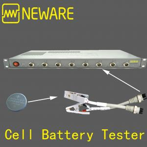 China Coin Cell Battery Tester with Capacity Test, Pulse Test, Charge and Discharge on sale