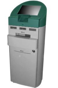 China A1 Selfservice touchscreen bank pass and list printing kiosk on sale