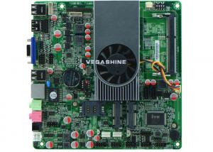 China Support Wake-on-LAN and PXE AMD Server All In One PC Motherboard with 2 COM , 10 USB on sale