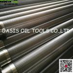 Continuous Slot Wire Wrap Screens for Oil and Water Well Drilling