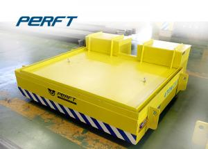 China Molten Steel Ladle Transfer Car / Electric Flat Car 270 - 600 Wheel Diameter Mm on sale