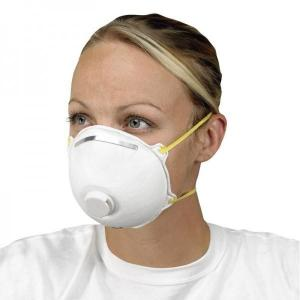 disposable face mask with filter