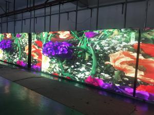 China P4.81 outdoor 500*500mm die cast aluminium rental led display screen on sale