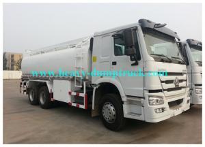 China 33cbm 6X4 Water Tank Truck / Transport Trucking EURO II 420hp with warranty on sale