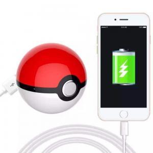 China Fairy Ball Power bank POKE MOM  USB Pokemon Go LED Power Bank Poke Ball Externe Batterie DE Händler on sale