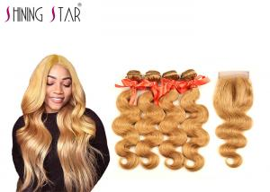 China 100% Brazilian Body Wave Human Hair Weave For Black Woman Color Optional on sale