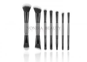 China Duel End Makeup Brushes With Excellent Synthetic Fiber For Full Line Daily Use on sale