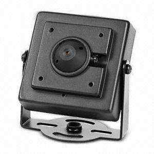 China Pinhole Mini Camera with PAL/NTSC TV System, 0.45 Gamma Correction and 12V DC, 250mA Power on sale