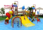 High Safety Water Park Playground Equipment High - Strength Material Wide Color Range